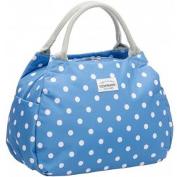 New Looxs Tosca Midi Polka Dot River Blue